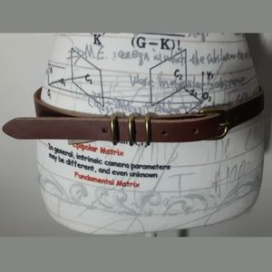 Fossil Belt Size M Brown like new great condition
